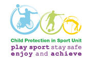 Logo for Child Protection in Sport Unit