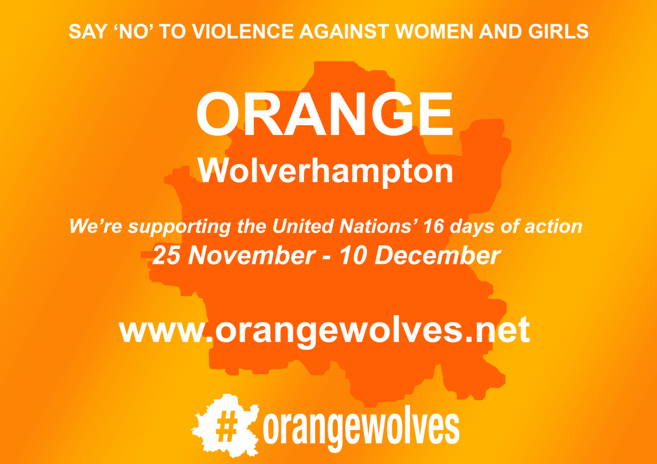 Join the#orangewolves campaign