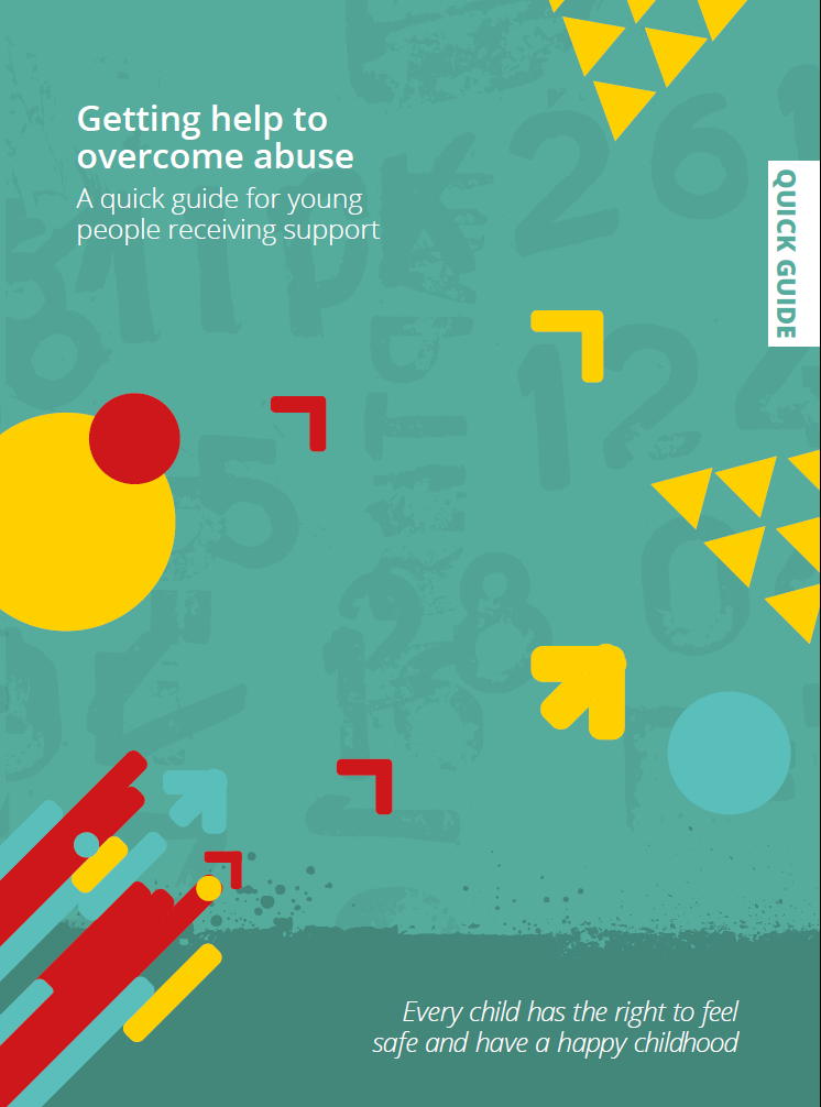 Young people's guide to 'Getting help to overcome abuse and neglect'
