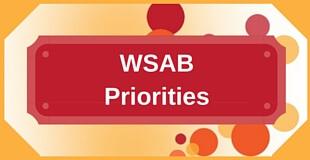 WSAB Priorities